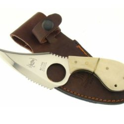 """7"""" Bone Collector Fixed Blade Skinning Knife Hunting Bowie Fish Skinner Leather"""