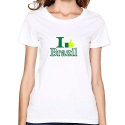 Ideal Like Brazil Womenst Shirt