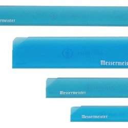Messermeister 4-Piece Edge-Guard Set, Translucent Blue