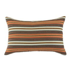 Chooty Weber Chestnut Self Backed 12-1/2 By 19 Ke Synthetic Down Pillow, Multicolored