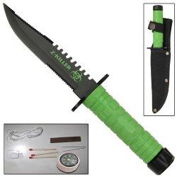 Z-Killer Little Giant Military Survival Clip Point Knife