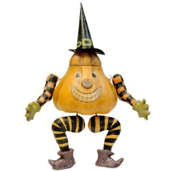 Halloween Pumpkin Sitter Hc322271 Witch New