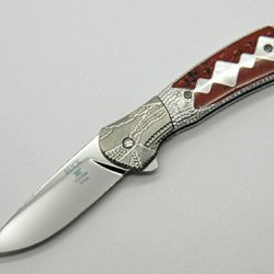 Custom Legacy Buck 336 336Pesle Paradigm Painted Pony Michael Prater Knife ~ Only 150 Made