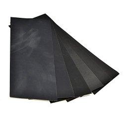 "Bluecell Pack Of 24 Sandpaper Abrasive Dry/Wet Paper Sheets 400/600/800/1000/1200/1500 Grit 9"" X 3.6"" Hobby Tool"