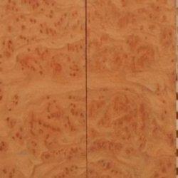 "Redwood Burl Eye (2 Pc) Knife Scales 3/8""X1 1/2""X5"" 801"