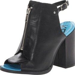 Kelsi Dagger Women'S Giulia, Charcoal, Slingback Heel, 7.5 M Us