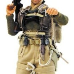 "Elite Force: Wwii British Army Commando Lieutenant Peter Keyes 12"" Military Action Figure"