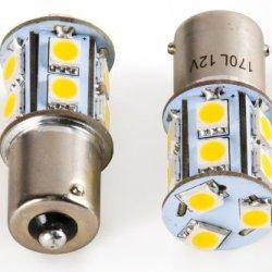 Camco 54614 5008 Bright White Light Led Bulb - 2 Pack