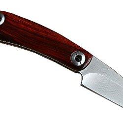 D2 Steel Blade Red Sandalwood Handle Folding Knife Camp Tactical Hunt Outdoor Survival Utility Pocket Knives Edc Tool