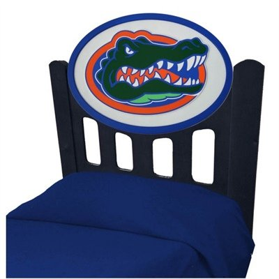 Image of University of Florida Gators Kids Wooden Twin Headboard With Logo (C0526S-Florida)
