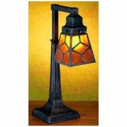20 Inch H Diamond Mission Mica 1 Lt Desk Lamp Table Lamps
