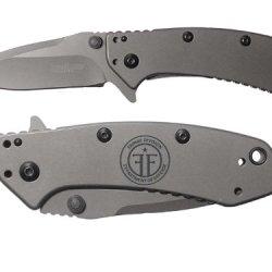 Fringe Division Engraved Kershaw Cryo 1555Ti Folding Speedsafe Pocket Knife By Ndz Performance