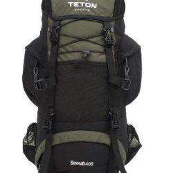 Teton Sports Scout 3400 Internal Frame Backpack (Hunter Green)