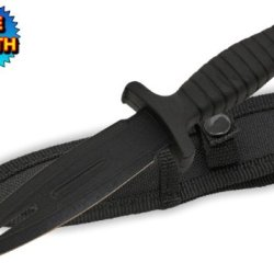 Z-1038-Bk 7 Inch Dagger Wgywcwm Style Black Blade 7Cw3Jo Black Handle Boot Knife Folding Knife Edge Sharp Steel Ytkbio Tikos567 Bgf 7 Pgvefjzl22 Inch Dagger Style Black Blade Black Handle Boot Knife. A Great Item! It Has An All Black Surgical Steel Dagger