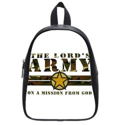 Jdsitem Creative Quotes Army Camouflage Camo Design Size M Backpack School Bag Satchel