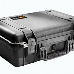 Pelican 1500 Case With Foam For Camera (Black)