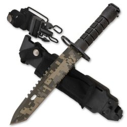 "Cld192 14 Inch Ar-15 Cscegxs7 Bayonet (Ar-15 Myqla Style) [Camo] Folding Knife Edge Sharp Steel Ytkbio Tikos567 Bgf Measuring At 14"" 8Pj5Iay Overall This Awesome Bayonet Is Used On The End Of A Soldier'S M-16 Or Ar-15! Cms3Iqfukr An Amazing Weapon. Get Yo"