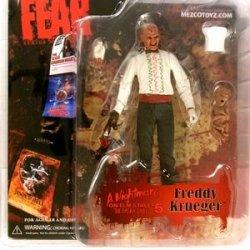 Mezco Toyz Cinema Of Fear Series 3 Action Figure Freddy (Nightmare On Elm Street 5)