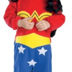 Justice League Wonder Woman Romper Costume , Wonder Woman Print, 6-12 Months