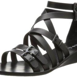 Kelsi Dagger Women'S Arlington Dress Sandal,Black,6 M Us