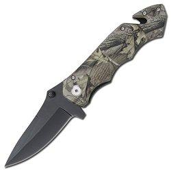 Tac-Force Speedster Model Pocket Knife Assisted Camo
