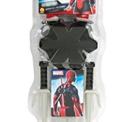 Rubie'S Costume Co Men'S Marvel Classic Deadpool Weapon Costume Accessory Kit, Multi, One Size