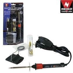 New Soldering Tools 11 Piece Electronic & Hobby Soldering Kit 20W Soldering Iron