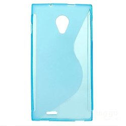 Silicon Case For Dg550 Anti-Knock Protective Back Case Cover For Doogee Dagger Dg550 (Blue)