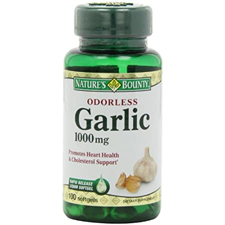 Garlic promotes heart and cardiovascular health and helps maintain cholesterol levels that are already within the normal range. Garlic also contains beneficial antioxidant properties. Our specialized cold processing method preserves the natural goodn...