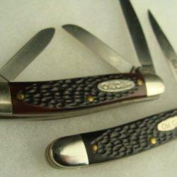 Mint Vintage Unused 2 & 3 Blade Old Cutler Lot Of 2 Pocket Antique Knives Pocketknife Folding Knife,Sharp,Pocket Knives,Camping,Hunting,Fishing