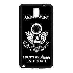 Jdsitem Unique Proud Army Wife Design Case Cover Sleeve Protector For Phone Samsung Galaxy Note 3 (Laser Technology)
