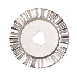 Fiskars 45Mm Rotary Cutter No. 9524 Deckle Blade