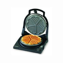 Chefschoice Chefs Choice Model 840 Waffle Pro Five Of Hearts, Silver