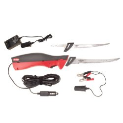 Berkleydeluxeelectricfilletknifekit(Bcdefk), Red/Black