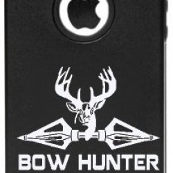 Iphone 5 5S Bow Hunter Hunting Aluminum And Silicone Protective Case