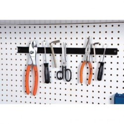 """Magnetic Holder For Knife, Utensils And Tools; 18"""" Wall Or Workbench Mountable"""