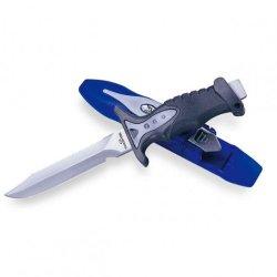 "Stainless Steel 5.7"" Underwater Knife For Scuba Diving - Metallic"