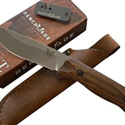 Benchmade Hunt 15001-2 Saddle Mountain Skinning Knife And Free Benchmade Sharpener