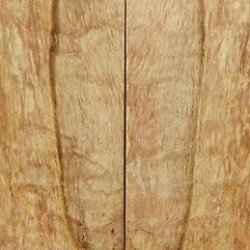 """Maple Soft Spalted/Stabilized 2 Pc Knife Scales 3/8"""" X 1 1/2"""" X 5"""" 21"""