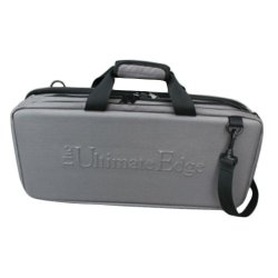The Ultimate Edge 2001-Ehg 18-Piece Hard Side Cutlery Case With Access Compartment, Gray