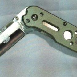 Gunmetal Firefighter Gift Pocket Knife