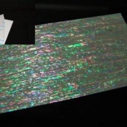 Prism Abalone Narrow Adhesive Veneer Sheet
