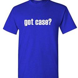 Got Case? - Mens Cotton T-Shirt, 2Xl, Royal