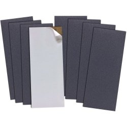 Coarse Glass Plate Sharpening System Replacement Paper Set ( 2 Ea )220,320,400,600 Grits