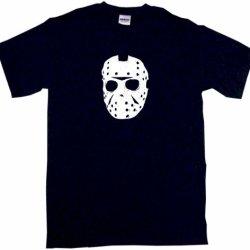 Jason Hockey Mask Logo Men'S Tee Shirt 4Xl-Black