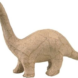 "Paper Mache Figurine 4.5""-Brontosaurus *** Product Description: Paper Mache Figurine 4.5""-Brontosaurusdecopatch-Paper Mache Figurine. This Figure Is Fun For Decoration And Play. It Can Be Painted And Decorated How You Want To. This Package Contai ***"