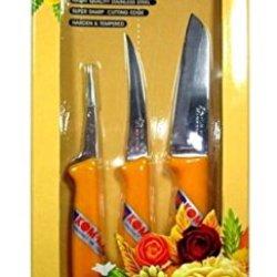 Kom Kom Fruit And Vegetable Carving Knives.