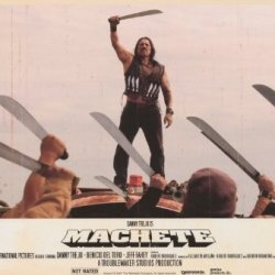 Machete Poster Movie 27 X 40 Inches - 69Cm X 102Cm Danny Trejo Robert De Niro Jessica Alba Steven Seagal Michelle Rodriguez Jeff Fahey Cheech Marin