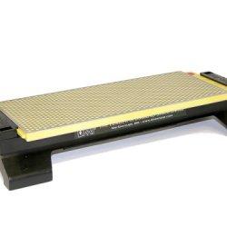 Dmt W250Ef-Wb 10-Inch Duosharp Bench Stone - Extra-Fine / Fine  With Base
