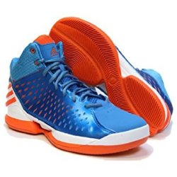 Adidas Men'S No Mercy 2014 Basketball Shoes Solar Blue/Orange 9 Us